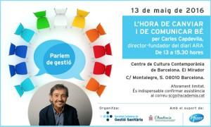 Invitació Carles Capdevila