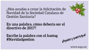 Crida felicitació Nadal Twitter castellà
