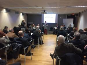 Inicio del acto fundacional del Círculo de Salud en Barcelona