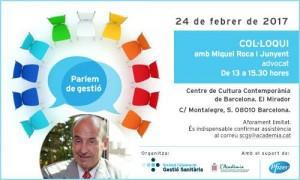 Invitació Miquel Roca