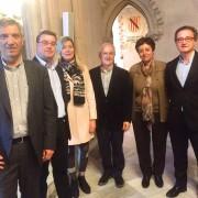 Pere Vallribera i Jordi Varela a la sessió de la Secció de Gestió a Palma