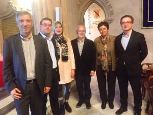 Pere Vallribera y Jordi Varela en la presentación de la Sección de Gestión de Palma