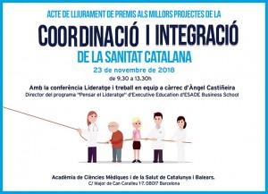 Premis als millors projectes de la Coordinació i Integració de la Sanitat Catalana